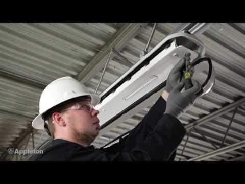 FELED - Luminaire a LED 5 000 lumen M25 ATEX / IECEx  Zone 1-21