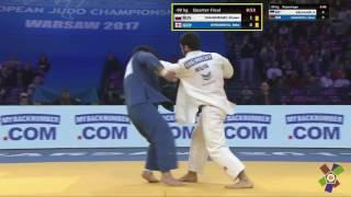 Хусен Халмурзаев vs Бека Гвиниашвили реванш) чемпионат Европы 2017