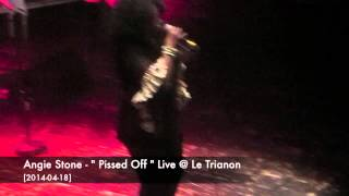 "Angie Stone - "" Pissed Off "" Live @ Le Trianon [2014-04-18]"