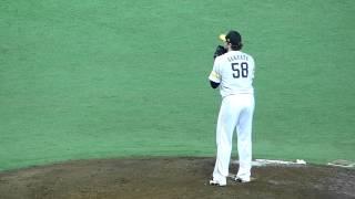 福岡ソフトバンクホークスデニス・サファテ投球フォーム