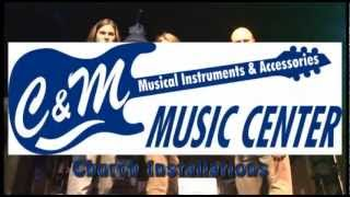 C And M Music Center - Hattiesburg Mississippi - Guitars And Drums
