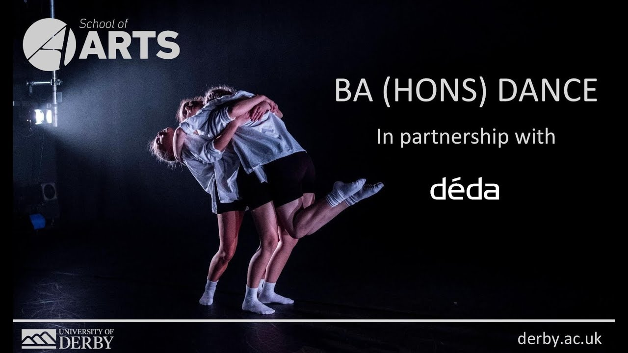 Why you should study Dance at the University of Derby and in partnership with Déda
