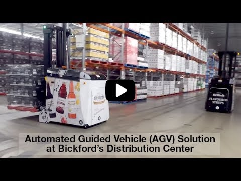 Automated Guided Vehicles (AGVs) | Dematic