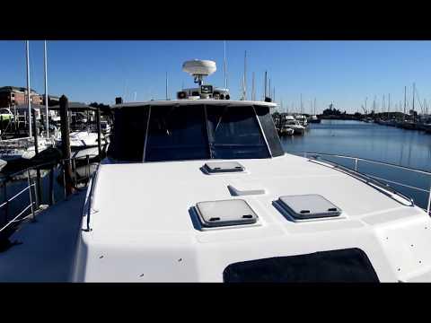 Endeavour 44 TrawlerCat video
