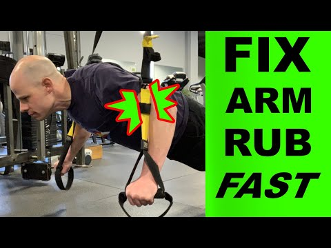 How to do TRX Push-ups Without Arm Rub