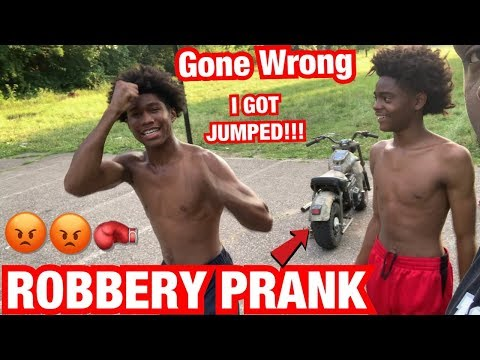 ROBBERY PRANK IN DETROIT **GONE WRONG** I GOT JUMPED