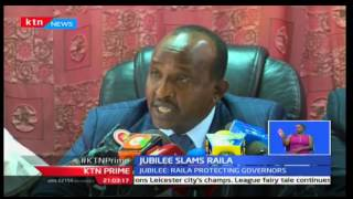 KTN Prime: House Majority Leader Aden Duale accuses ODM Leader of protecting ODM corrupt Governors