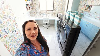 Our Dream Home Laundry Room Reveal!