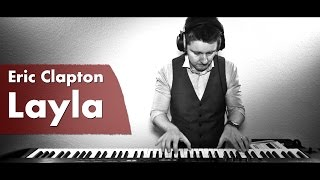 Eric Clapton - Layla (Acoustic Piano Cover by Mr. Pianoman)
