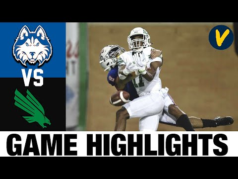 Houston Baptist vs North Texas Highlights Week 1 2020 College Football Full Game Highlights