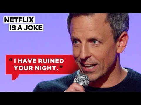 Seth Meyers Didn't Get Engaged In Paris | Netflix Is A Joke