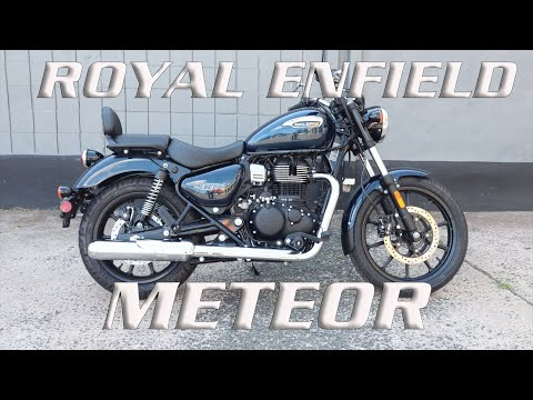 2021 Royal Enfield Meteor 350 in Enfield, Connecticut - Video 1