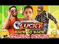 Main Hoon Lucky The Racer Back To Back Comedy Scenes | South Indian Hindi Dubbed Best Comedy Scenes
