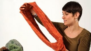 How To Knit An Infinity Scarf Aka Circle Scarf | Knitting