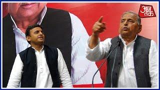 Mulayam Singh And Akhilesh Yadav Meet For 90 Minutes Fail To Agree