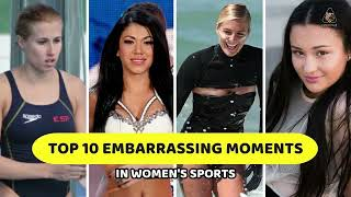 Womens Sports Oops | Revealing Embarrassing Moments
