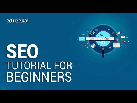 SEO Tutorial For Beginners | Learn SEO Step by Step | Digital Marketing Training | Edureka