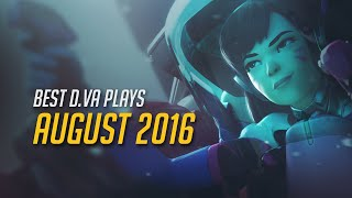 Best DVA August 2016 ► Overwatch POTG Montage