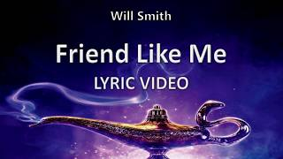 "Will Smith ""Friend Like Me"" ALADDIN 2019 