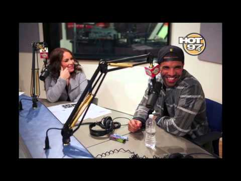 Drake's first radio exclusive with Angie Martinez