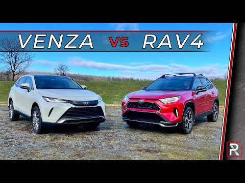 2021 Toyota Venza Vs. 2021 Toyota RAV4 - Which Toyota Hybrid SUV is Best?