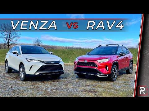 2021 Toyota Venza Vs. 2021 Toyota RAV4 - Which Toyota Hybrid SUV is Best?