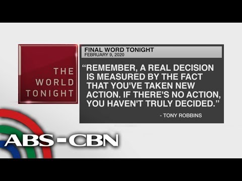 [ABS-CBN]  Final Word – February 9, 2020 | ANC