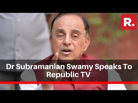 Dr Subramanian Swamy Reacts To I-T Tribunal Dismissing Gandhis' Young India's Plea