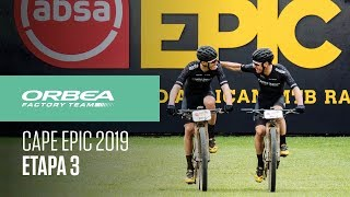 Etapa 3 Cape Epic 2019 | Orbea Factory Team