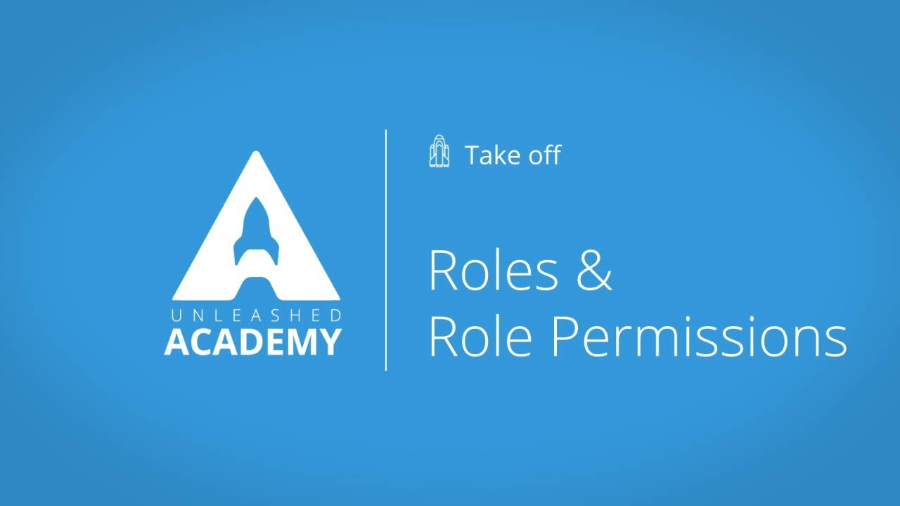Roles and Role Permissions YouTube thumbnail image