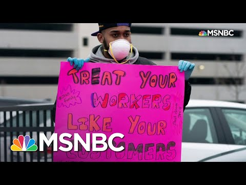 Amazon Worker Leads Protest Against Working Conditions, Is Fired | All In | MSNBC