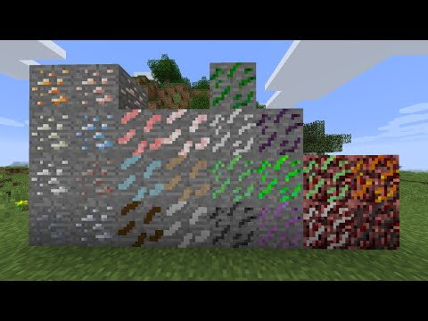 Minecraft Mod: Fun Ores