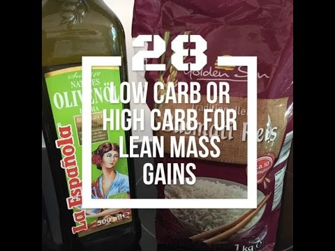 Built by Science #28 - Low Carb oder High Carb zum Muskelaufbau?