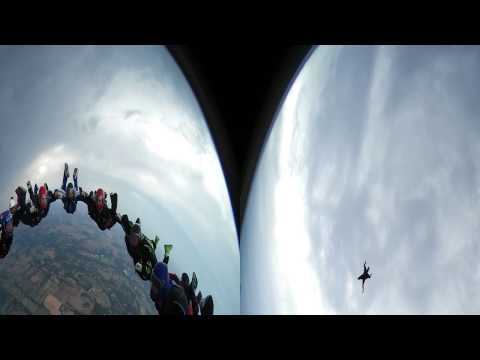Virtual Reality: Skydiving