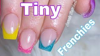 Short French Acrylic Nails