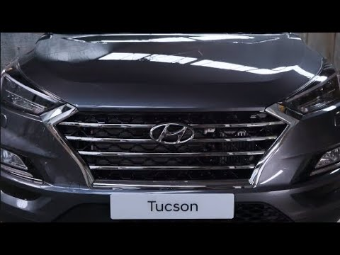 The Hyundai Tucson - Safety With Jake Humphrey