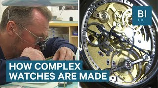 How A Luxury Watch Company Makes Its £28,000 Watches