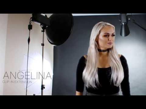 Angelina Human Hair Clip-ins
