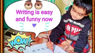 How to make baby write #easy writing tricks for your child