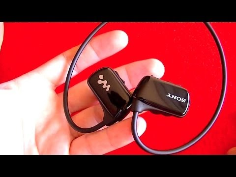 Sony NWZ-W273, reproductor música MP3 resistente al agua