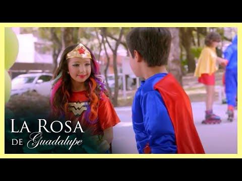 La Rosa de Guadalupe: Maggie enamora a Willy con un disfraz   La niña que veía mariposas