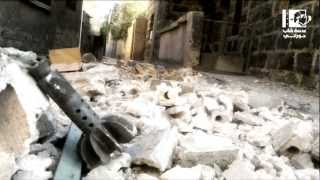 preview picture of video 'لحظات مؤلمة من درعا بعدسة شاب حوراني'