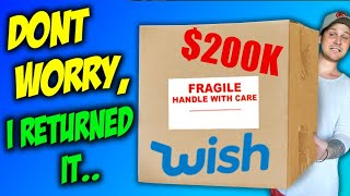 Check Out This TWO HUNDRED THOUSAND $$ ITEM FROM WISH!!