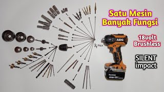 Review Impact Driver AEG BSS18OP-0 18V Brushless