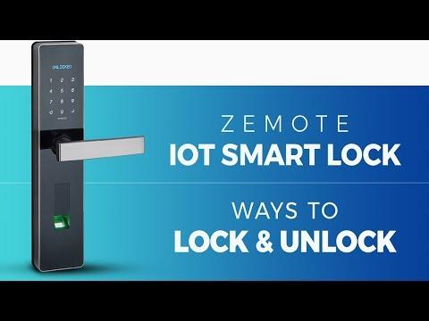 Zemote IoT Smart Door Lock