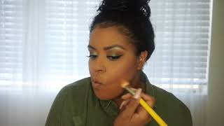 Olive Green Makeup Tutorial