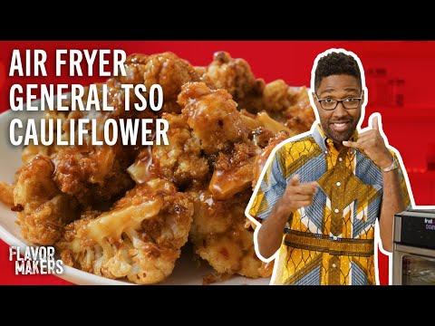 General Tso Cauliflower Air Fryer Recipe - Vegetarian   Flavor Maker Series   McCormick