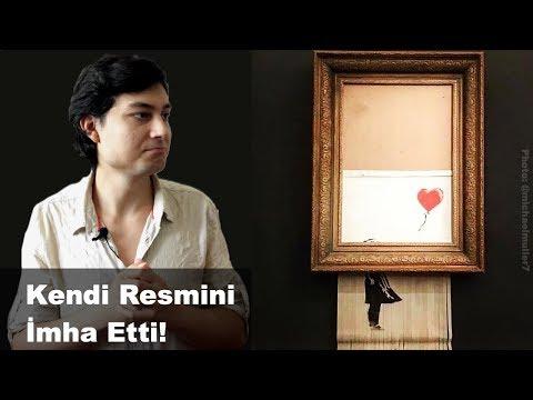1.4 Milyon Doları ÖĞÜTÜCÜDEN GEÇİRMEK! | Banksy Kırmızı Balonlu Kız Tablosu | Sanat