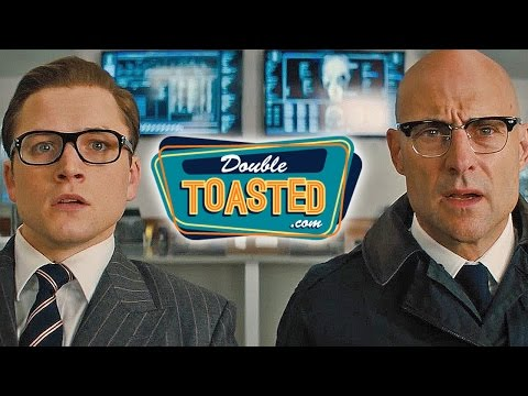 KINGSMAN THE GOLDEN CIRCLE OFFICIAL MOVIE TRAILER #1 REACTION - Double Toasted Review