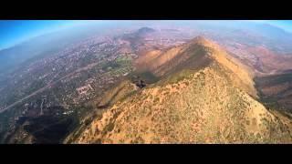 Homem salta com Wingsuit e acerta alvo em uma velocidade impressionante